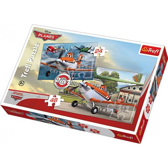 2 in 1 puzzels van Disney Planes