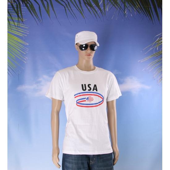 Amerika vlaggen t shirts voor heren