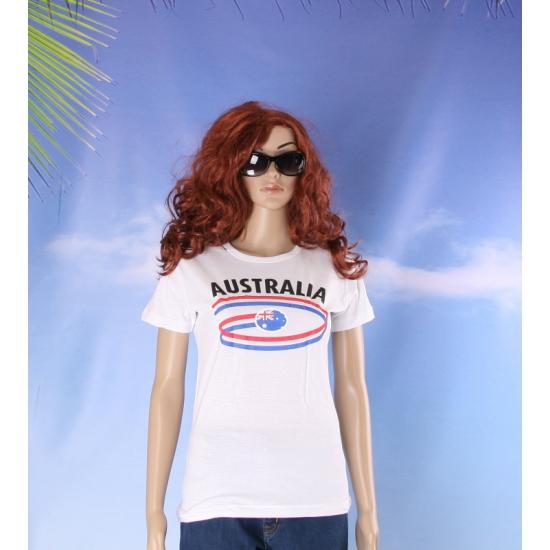 Australie vlaggen t shirts voor dames