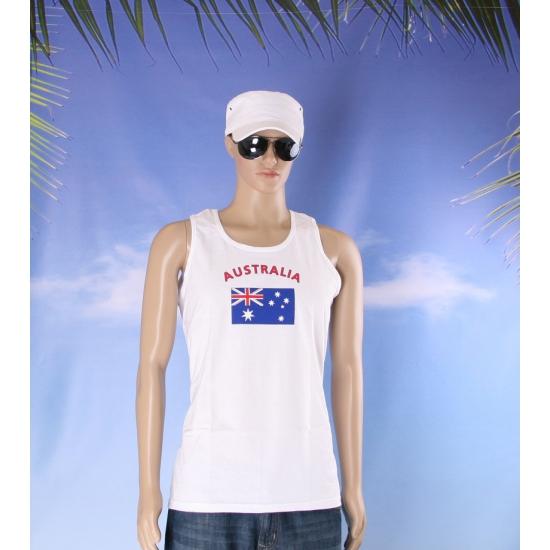 Australie vlaggen tanktop/ t shirt