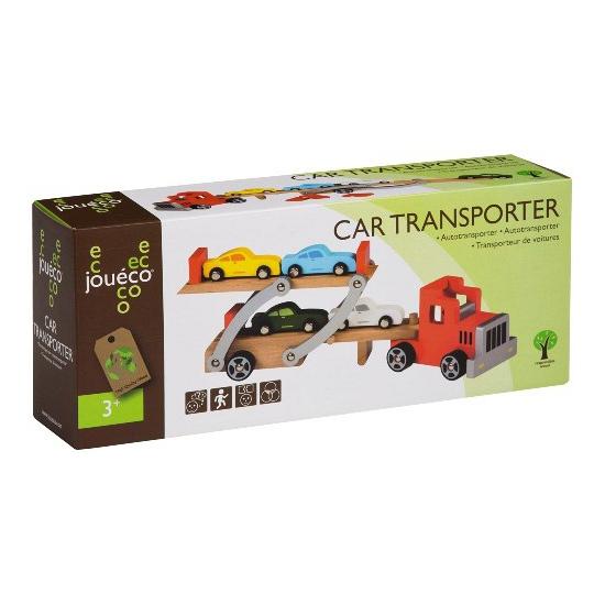 Autotransporter van eco hout