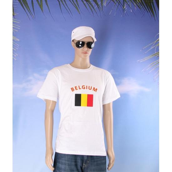 Belgische vlaggen t shirts