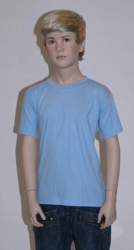 Blauw t shirt voor kinderen