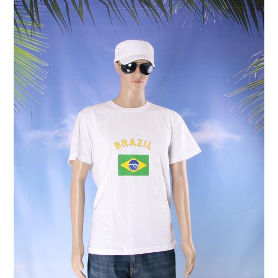 Brazilie vlaggen t shirts
