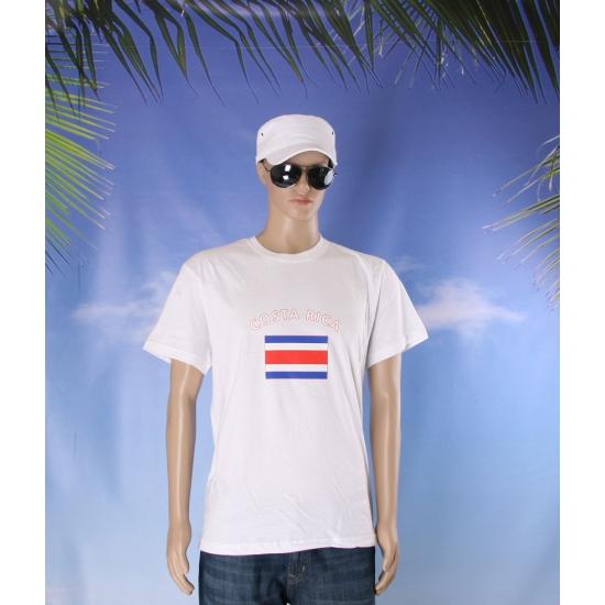 Costa Rica vlaggen t shirts