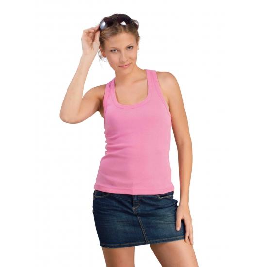 Dames roze tanktop Coconut