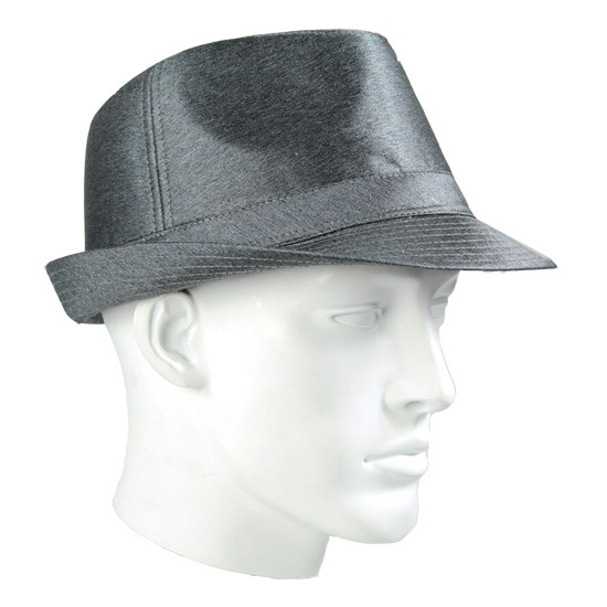Donker zilver Timberlake hoed