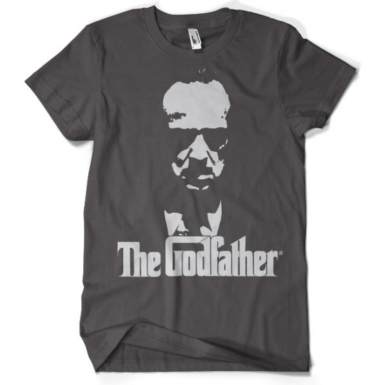Donkergrijs The Godfather t shirt