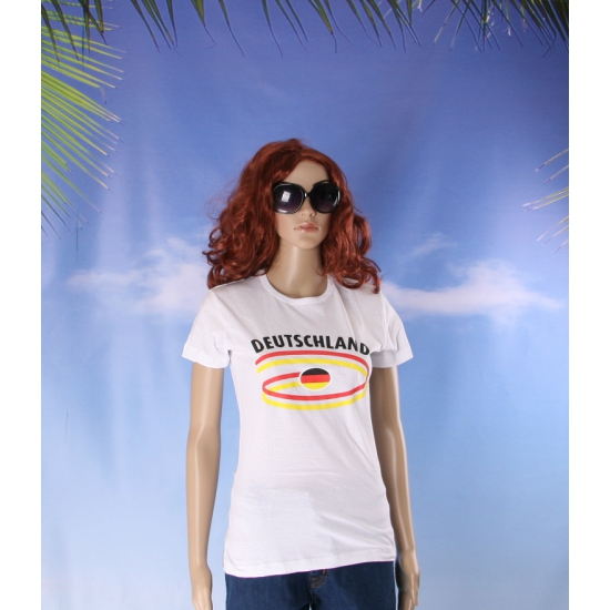 Duitsland vlaggen t shirts voor dames