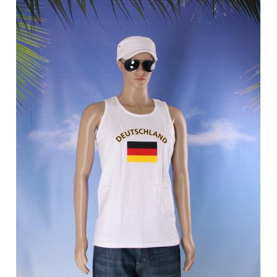 Duitsland vlaggen tanktop/ t shirt