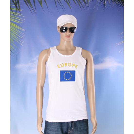 Europa vlaggen tanktop/ t shirt