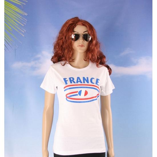 Franse vlaggen t shirts voor dames