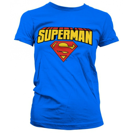 Fun damesshirt Superman