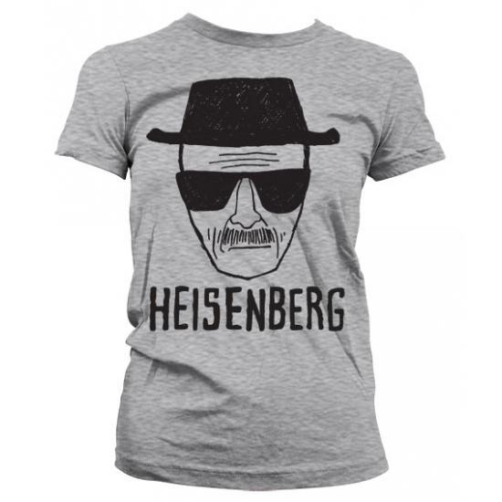 Fun shirt Heisenberg Sketch grijs voor dames