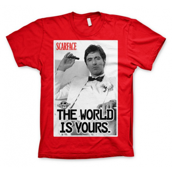 Fun shirt Scarface The world is Yours