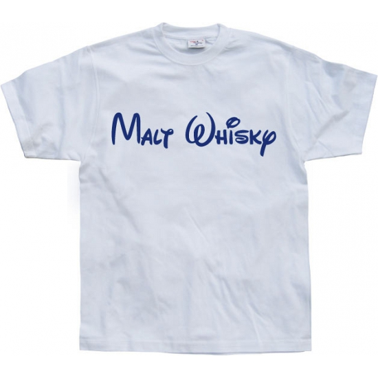 Funny heren shirt Malt Whisky