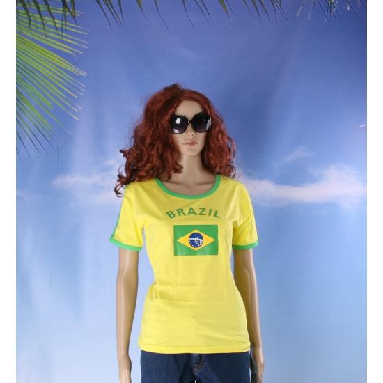 Geel dames shirt Brazilie