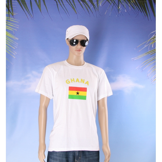 Ghanese vlag  t  shirts