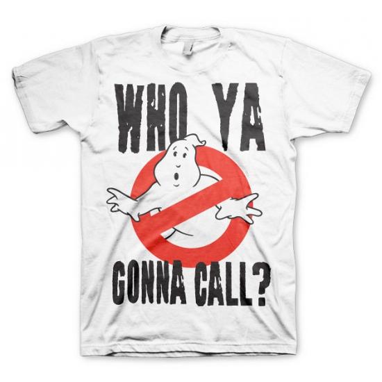 Ghostbusters kleding heren shirt wit