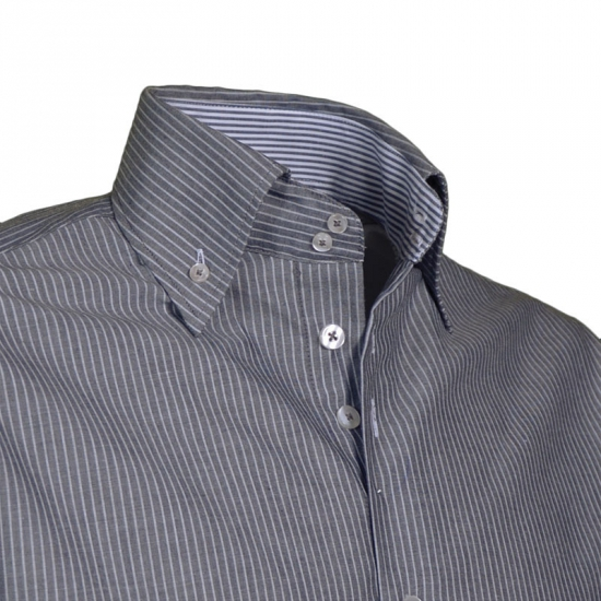 Giovanni Capraro overhemd grijs