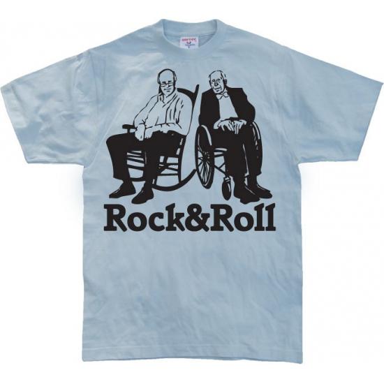 Grappig heren T shirt Rock & Roll