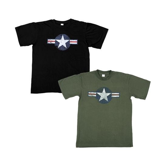 Groene USAF t shirts voor heren