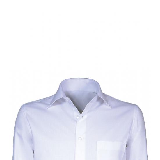 Heren overhemd met korte mouwen