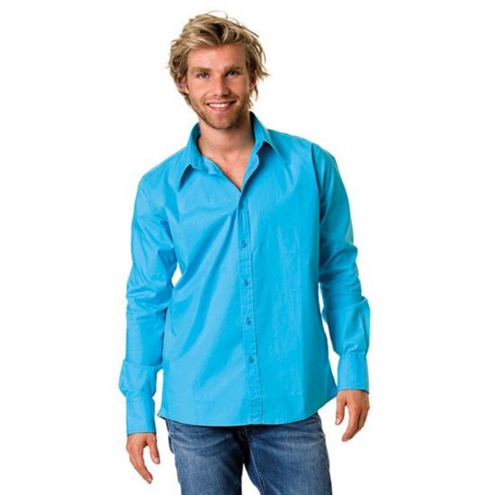 Heren overhemd super colors