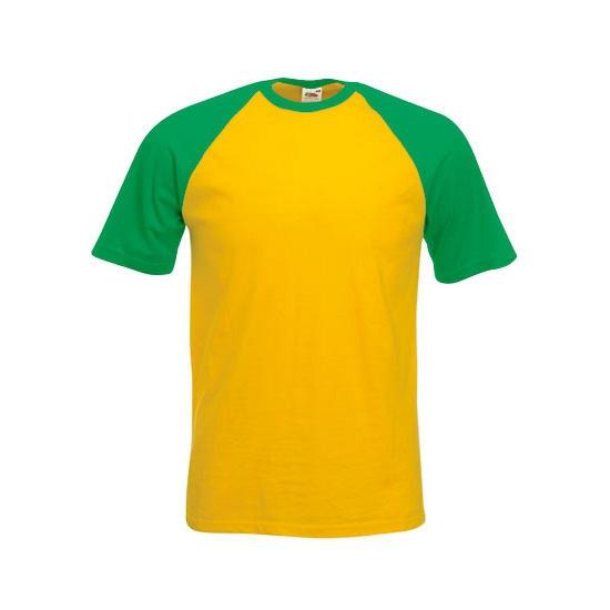 Heren t shirt Brazilie kleuren