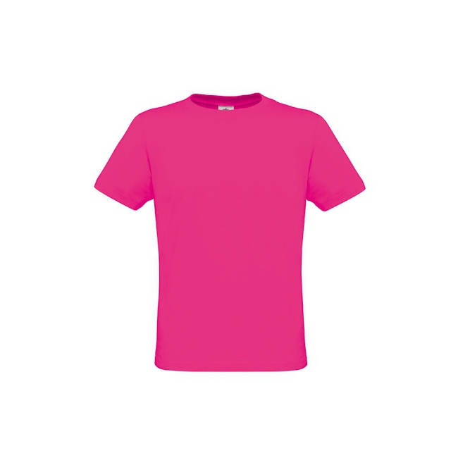 Heren t shirts in felle roze kleur