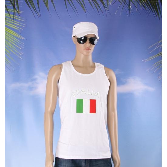 Italie vlaggen tanktop / t shirt