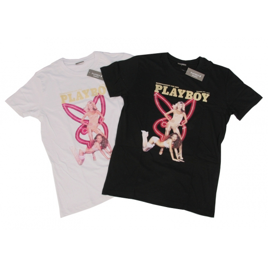 Katoenen shirt Playboy bunnies