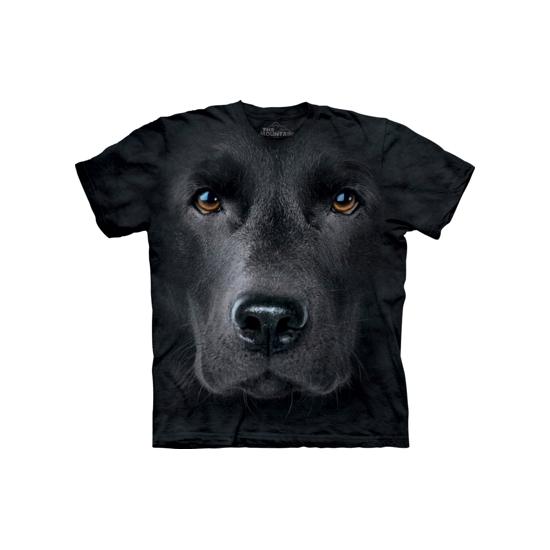 Kinder honden T shirt zwarte Labrador