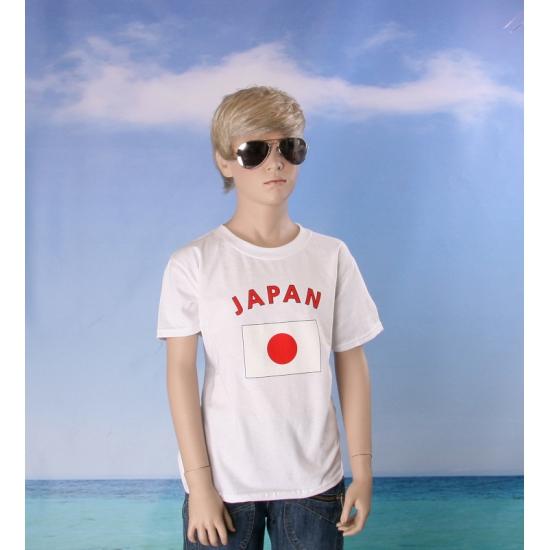 Kinder shirts met vlag van Japan