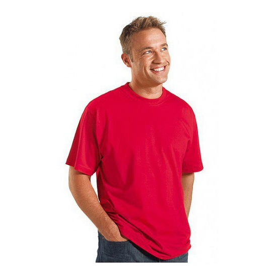Maat 4XL heren t shirts rood