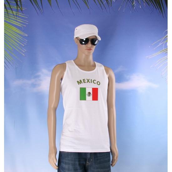 Mexicaanse vlaggen tanktop/ t shirt