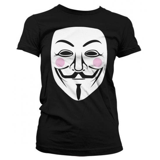 Movie damesshirt V for Vendetta