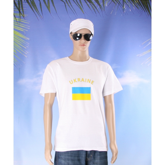 Oekraiense vlaggen t shirts
