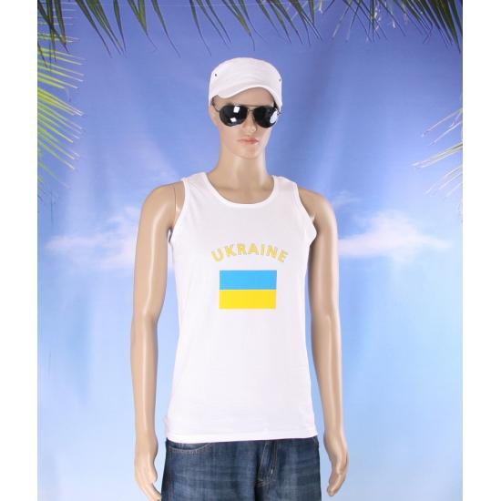 Oekraiense vlaggen tanktop/ t shirt