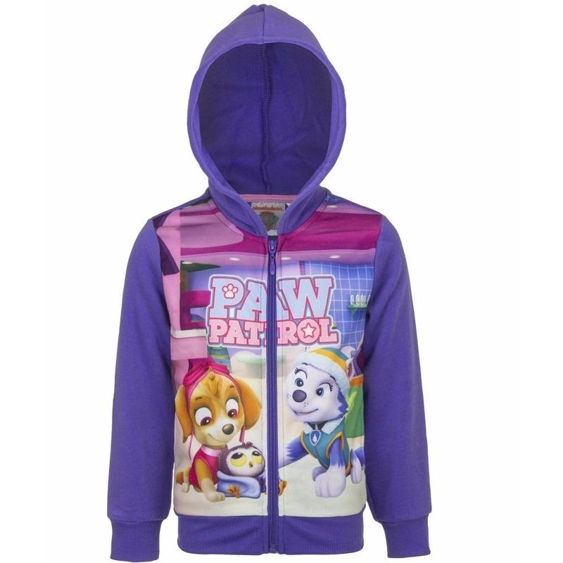 Paw Patrol sweater met rits paars