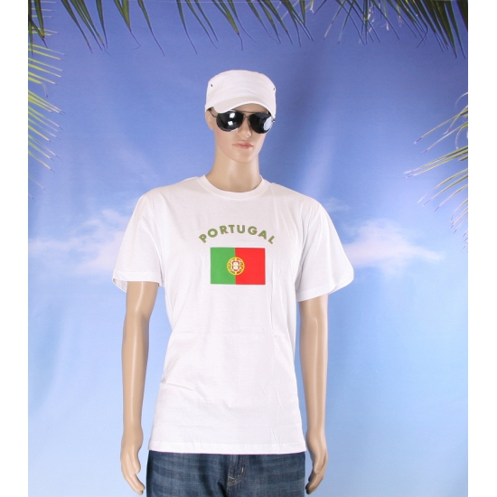 Portugal vlaggen shirts