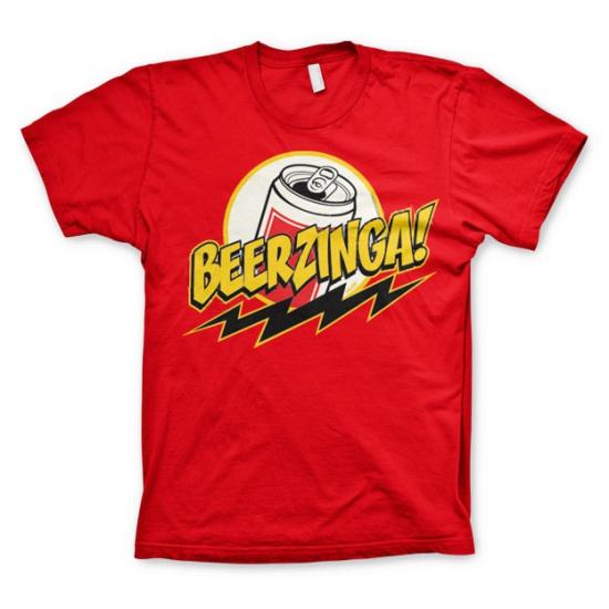 Rood Beerzinga t shirt