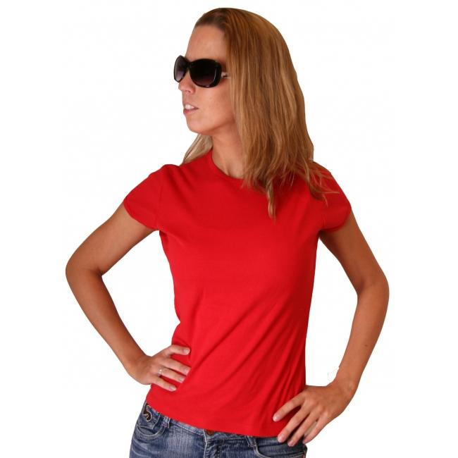 Rood Bella shirt voor dames