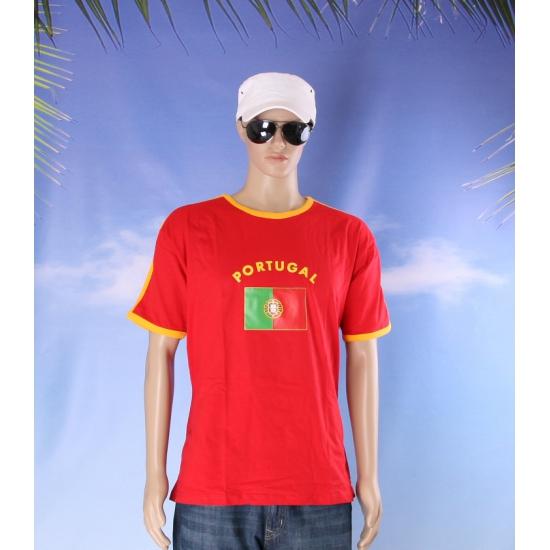 Rood heren shirt Portugal