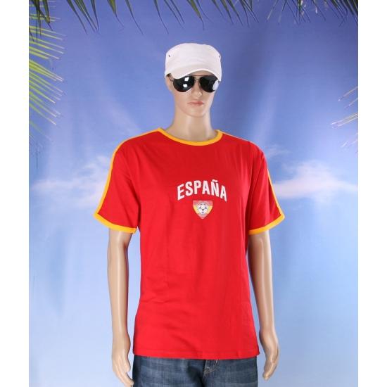 Rood shirtje Spanje print