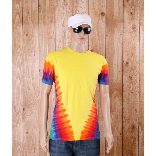 Sixties t shirt rainbow