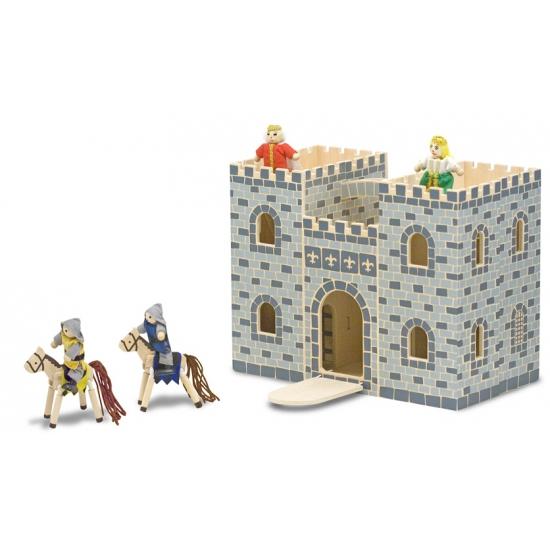 Speegoed kasteel van hout