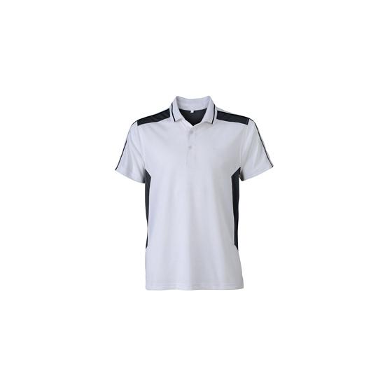 Sportief werk t shirt wit voor heren