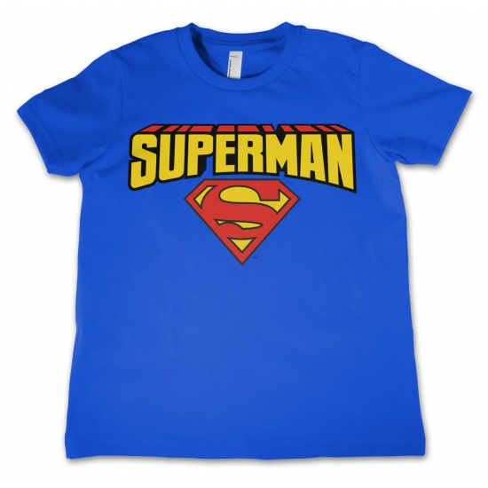 Superman kleding kinder t shirt