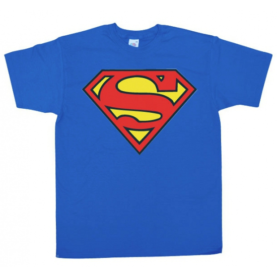 Superman logo kleding heren shirt